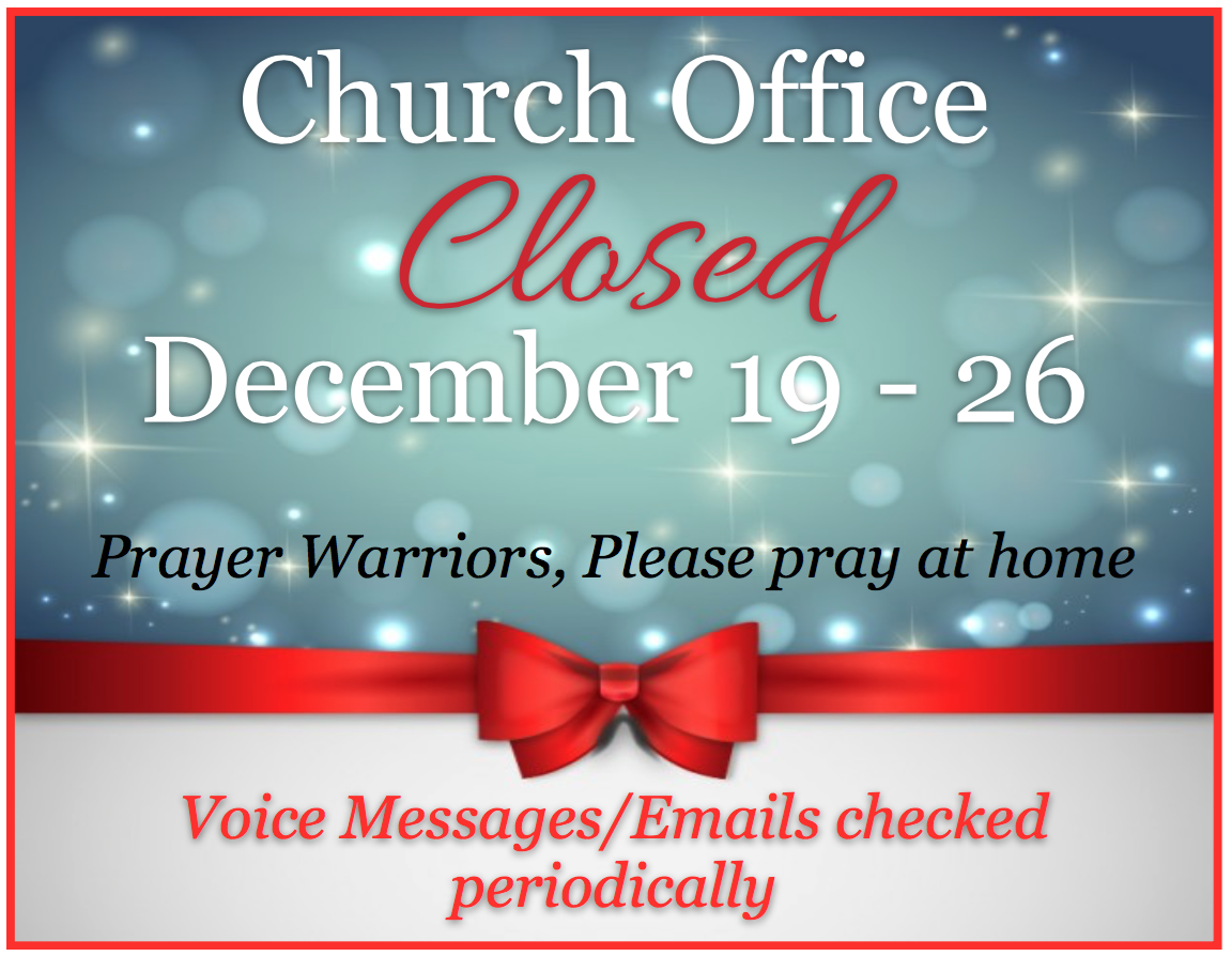 office closed message